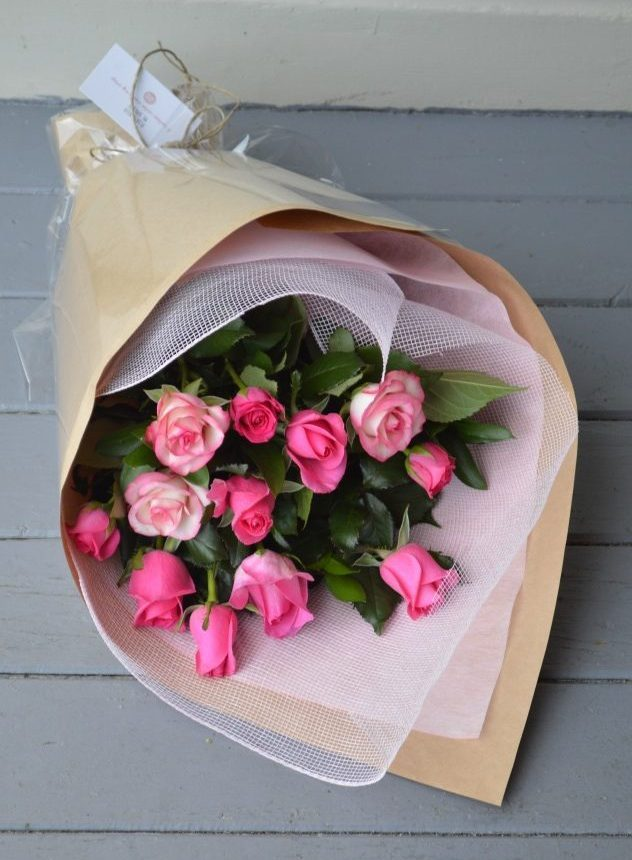 Pink Rose Bouquet - The Little Things